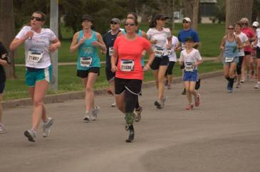 me running my first 5k