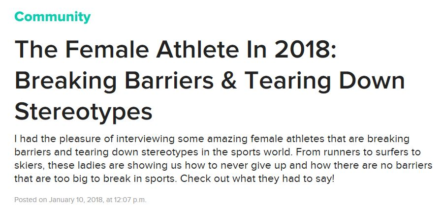 Screenshot of the title and summary at the top of the Buzzfeed article, accessible by clicking the link to the full article below